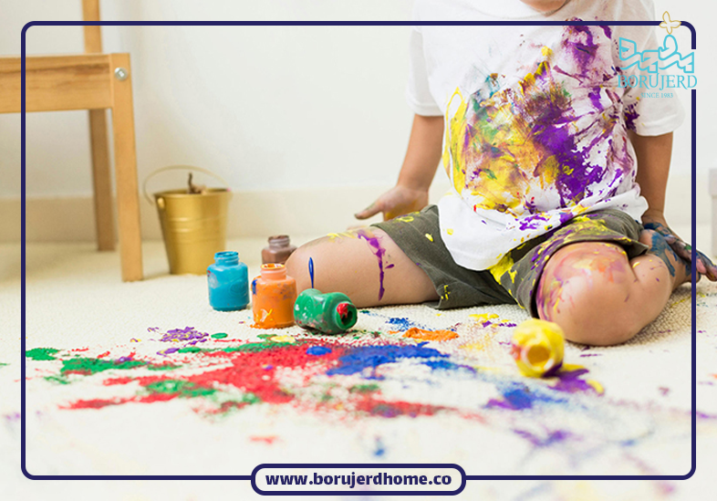 پاک کردن لکه رنگ از روی لباس های رنگی